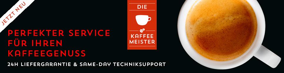 Wir sind die Kaffeemeister - Perfekter Service für Ihren Kaffeegenuss!
